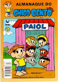 ALMANAQUE DO CHICO BENTO nº24 - EDITORA GLOBO