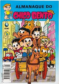 ALMANAQUE DO CHICO BENTO nº26 - EDITORA GLOBO