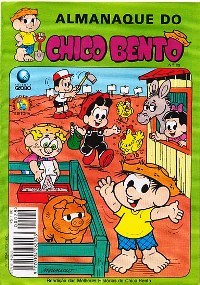 ALMANAQUE DO CHICO BENTO nº28 - EDITORA GLOBO
