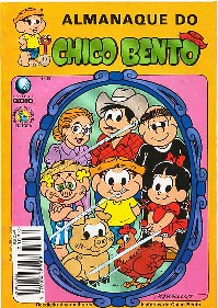 ALMANAQUE DO CHICO BENTO nº35 - EDITORA GLOBO