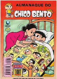 ALMANAQUE DO CHICO BENTO nº43 - EDITORA GLOBO
