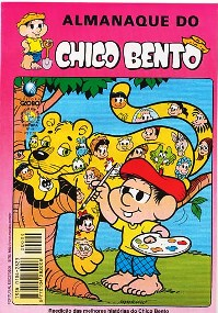 ALMANAQUE DO CHICO BENTO nº44 - EDITORA GLOBO