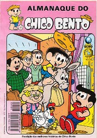 ALMANAQUE DO CHICO BENTO nº45 - EDITORA GLOBO