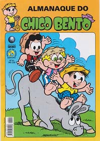 ALMANAQUE DO CHICO BENTO nº91- EDITORA GLOBO
