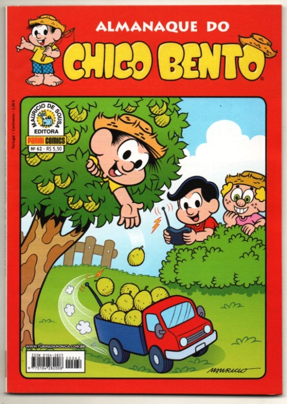 ALMANAQUE DO CHICO BENTO nº062 - EDITORA PANINI