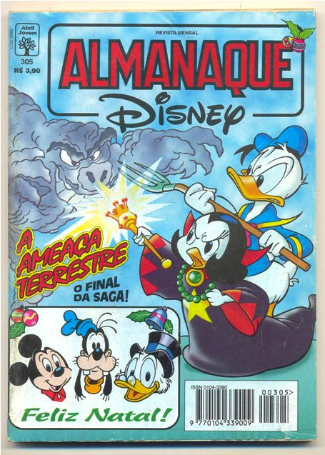 ALMANAQUE DISNEY nº305 - EDITORA ABRIL