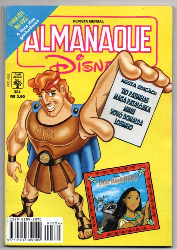 ALMANAQUE DISNEY nº324 - EDITORA ABRIL