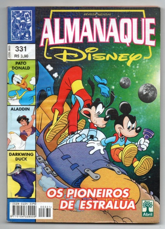 ALMANAQUE DISNEY nº331 - EDITORA ABRIL