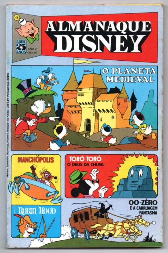ALMANAQUE DISNEY nº046 - EDITORA ABRIL