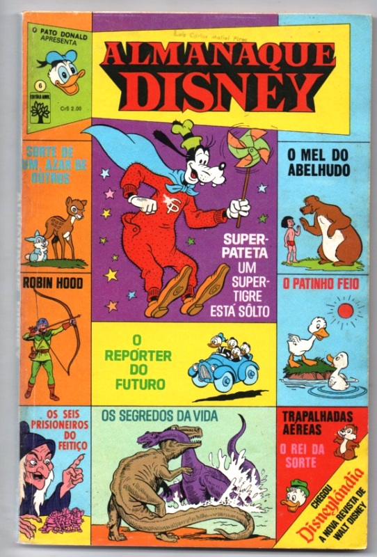 ALMANAQUE DISNEY nº006 - EDITORA ABRIL