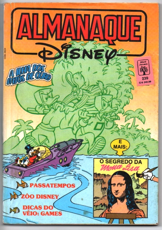 ALMANAQUE DISNEY nº239 - EDITORA ABRIL