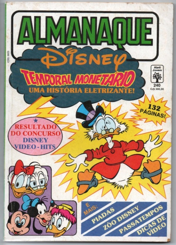 ALMANAQUE DISNEY nº240 - EDITORA ABRIL