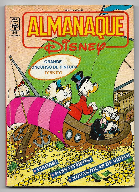 ALMANAQUE DISNEY nº245 - EDITORA ABRIL