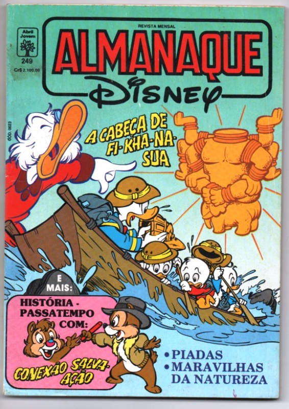 ALMANAQUE DISNEY nº249 - EDITORA ABRIL