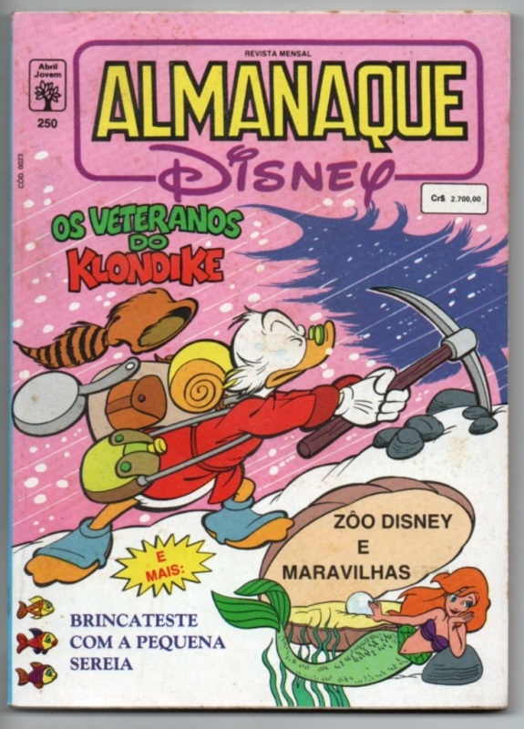 ALMANAQUE DISNEY nº250 - EDITORA ABRIL