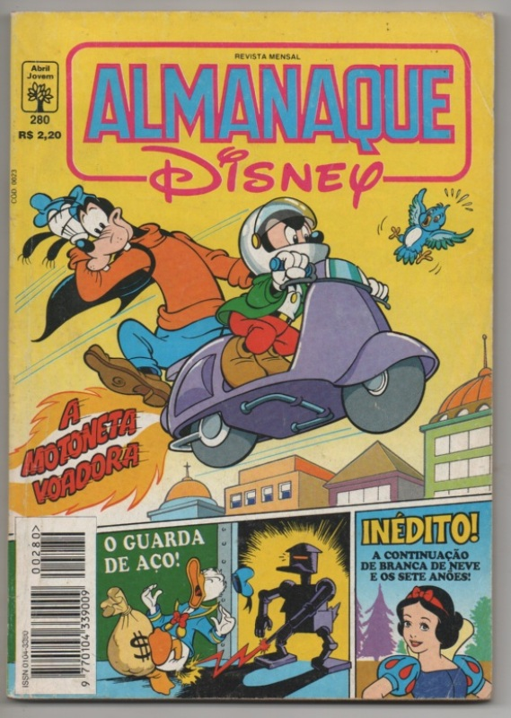 ALMANAQUE DISNEY nº280 - EDITORA ABRIL