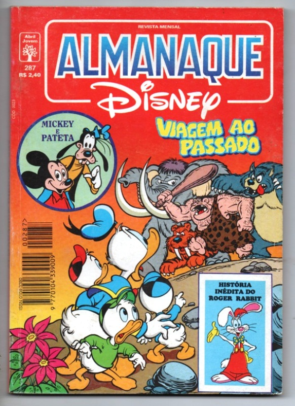 ALMANAQUE DISNEY nº287 - EDITORA ABRIL