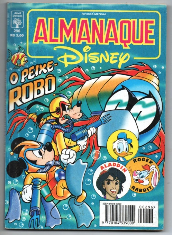ALMANAQUE DISNEY nº296 - EDITORA ABRIL