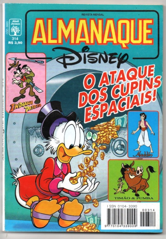 ALMANAQUE DISNEY nº314 - EDITORA ABRIL