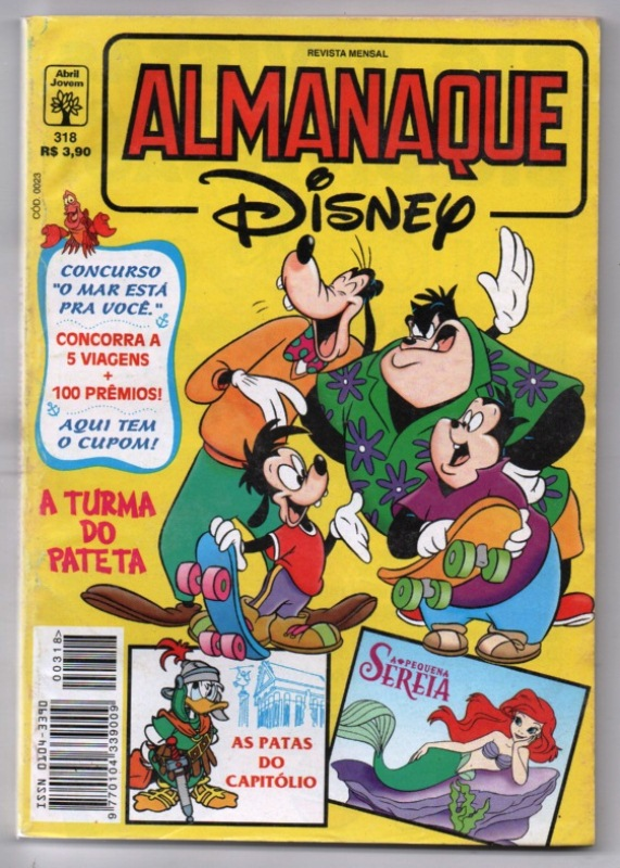 ALMANAQUE DISNEY nº318 - EDITORA ABRIL