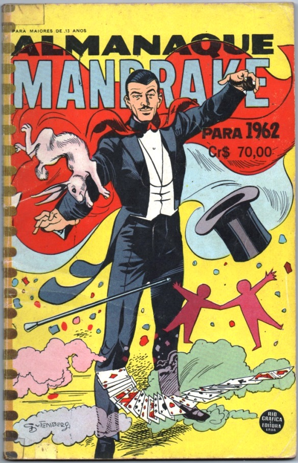 ALMANAQUE DO MANDRAKE DE 1962