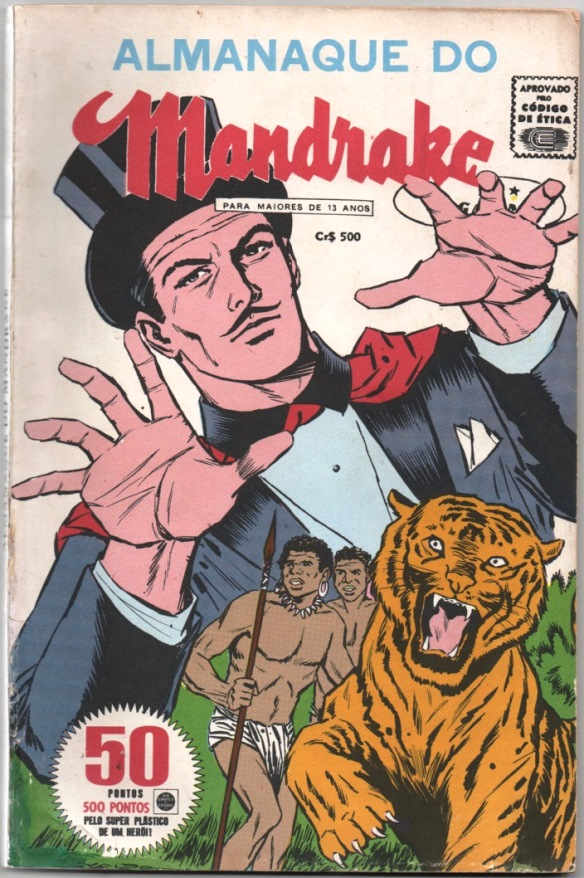 ALMANAQUE DO MANDRAKE DE 1967