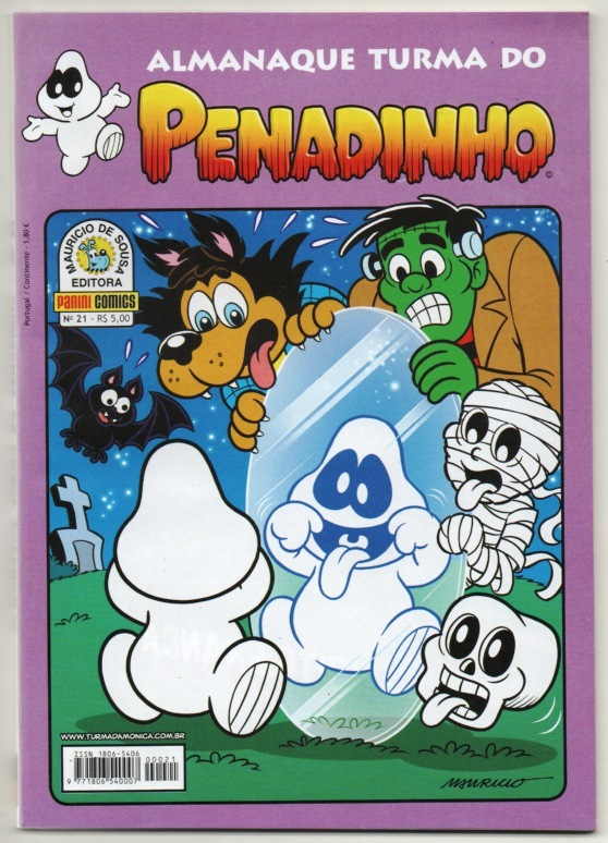 ALMANAQUE TURMA DO PENADINHO n°21 - EDITORA PANINI