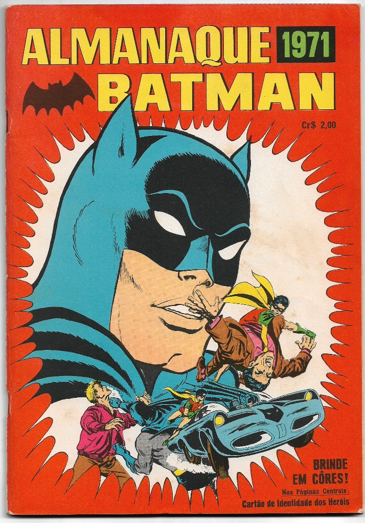 ALMANAQUE DO BATMAN DE 1971 - EBAL