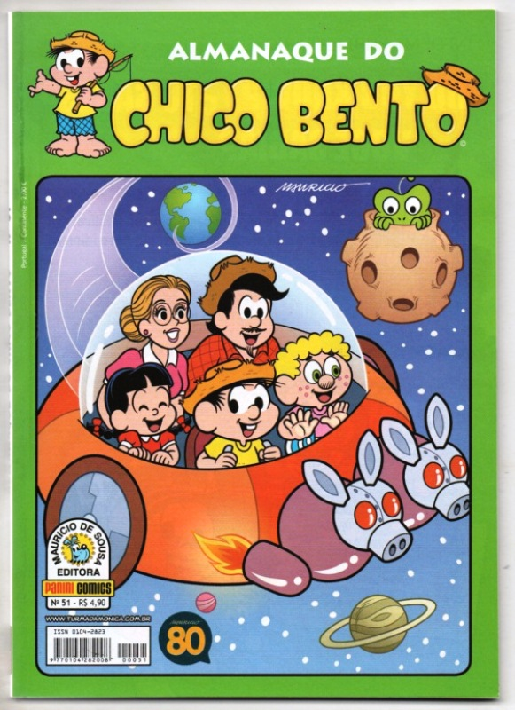 ALMANAQUE DO CHICO BENTO nº051 - EDITORA PANINI