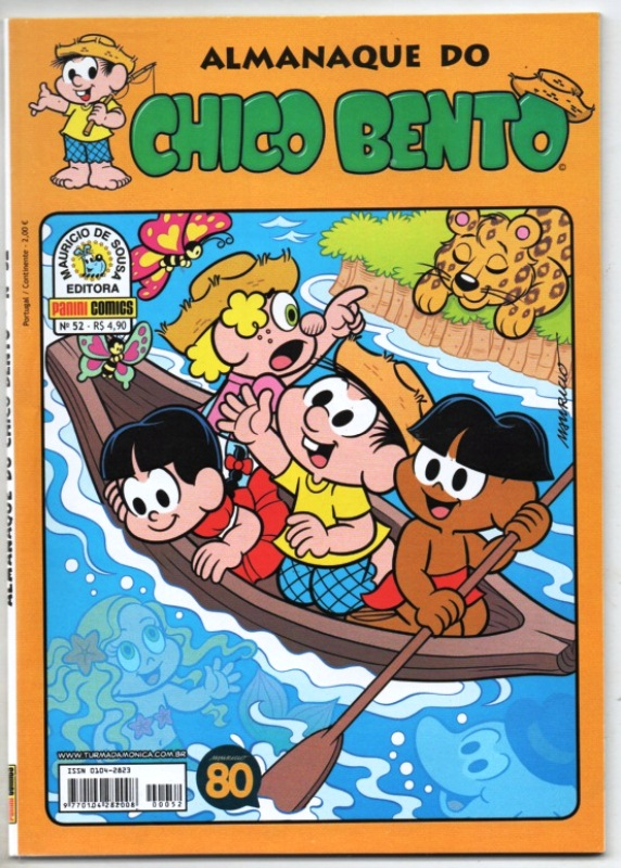 ALMANAQUE DO CHICO BENTO nº052 - EDITORA PANINI