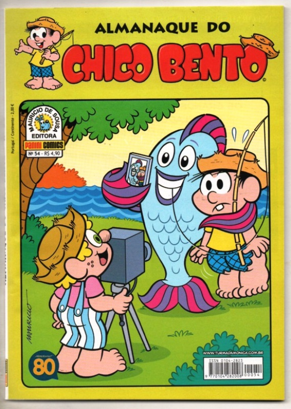 ALMANAQUE DO CHICO BENTO nº054 - EDITORA PANINI