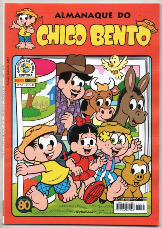 ALMANAQUE DO CHICO BENTO nº055 - EDITORA PANINI