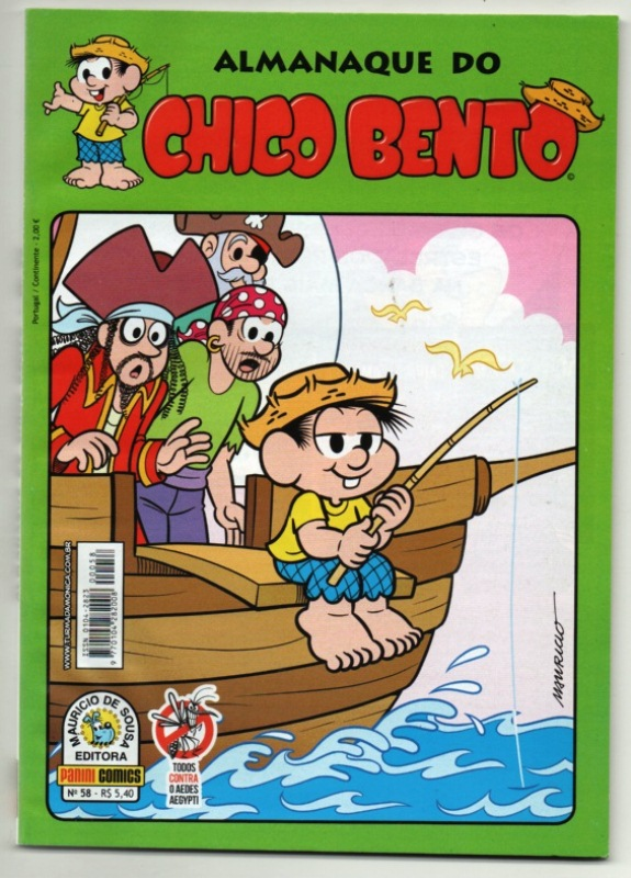 ALMANAQUE DO CHICO BENTO nº058 - EDITORA PANINI