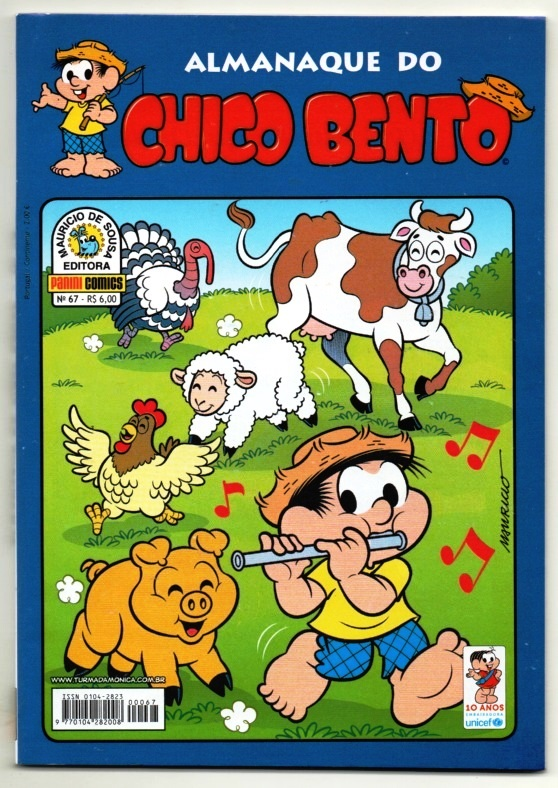 ALMANAQUE DO CHICO BENTO nº067 - EDITORA PANINI