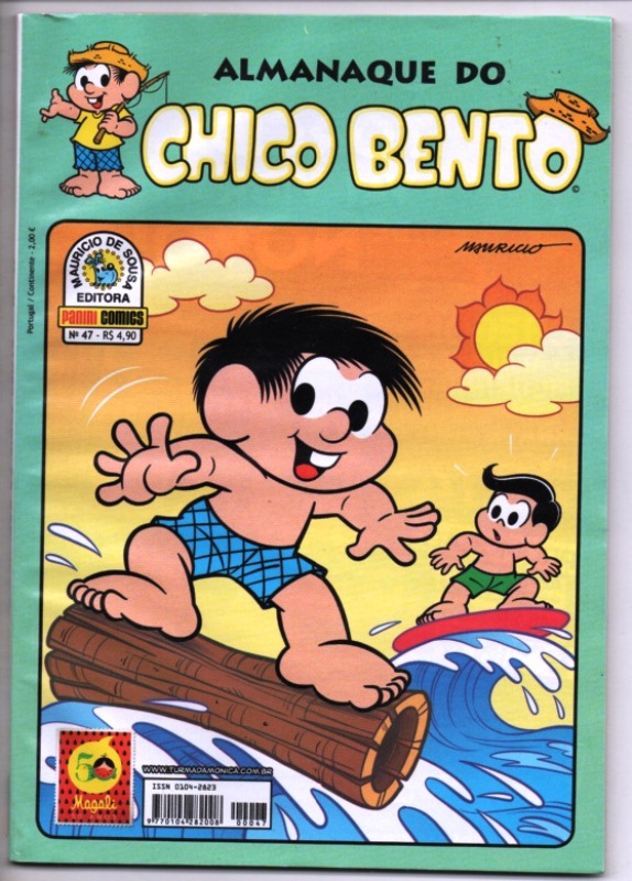 ALMANAQUE DO CHICO BENTO nº047 - EDITORA PANINI