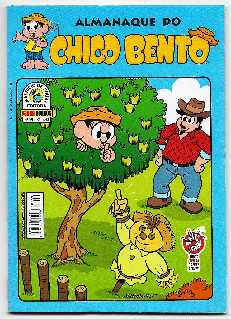 ALMANAQUE DO CHICO BENTO nº059 - EDITORA PANINI