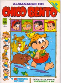 ALMANAQUE DO CHICO BENTO nº01 - EDITORA ABRIL
