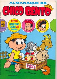 ALMANAQUE DO CHICO BENTO nº04 - EDITORA ABRIL
