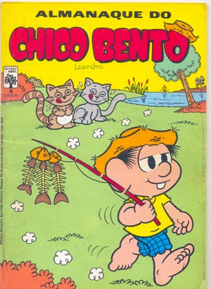 ALMANAQUE DO CHICO BENTO nº08 - EDITORA ABRIL