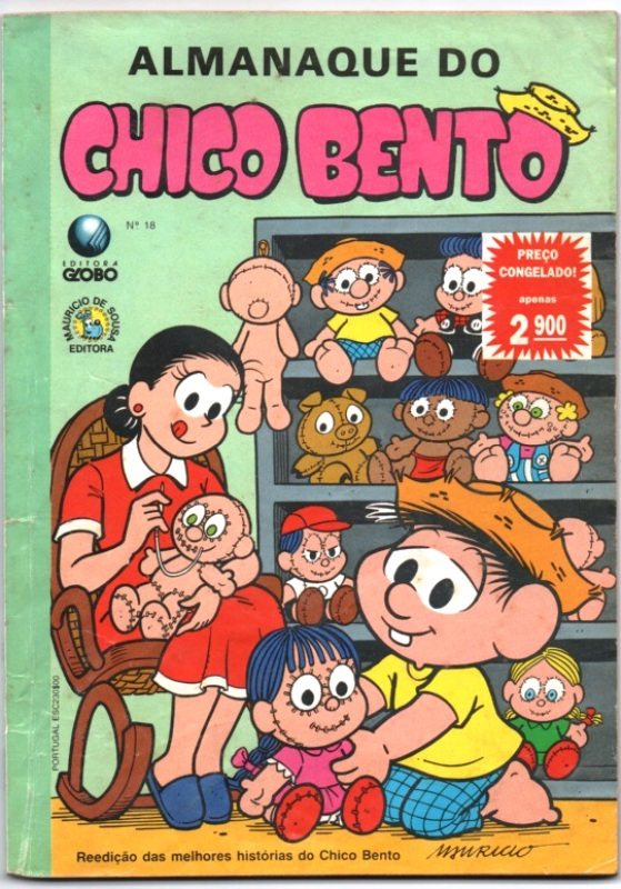 ALMANAQUE DO CHICO BENTO nº18 - EDITORA GLOBO