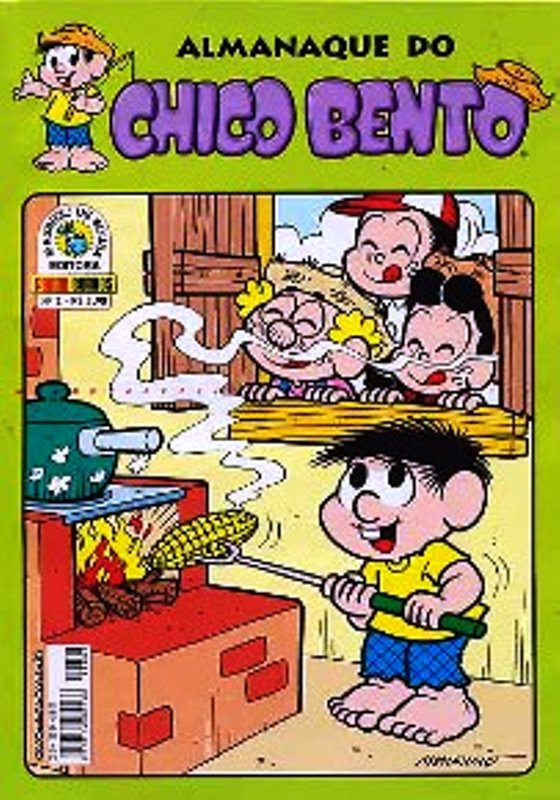 ALMANAQUE DO CHICO BENTO nº002 - EDITORA PANINI