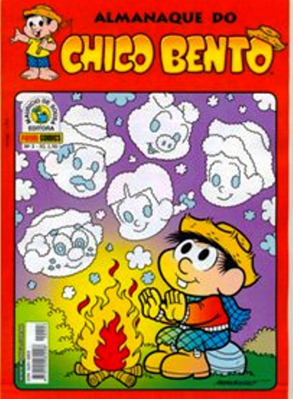 ALMANAQUE DO CHICO BENTO nº003 - EDITORA PANINI