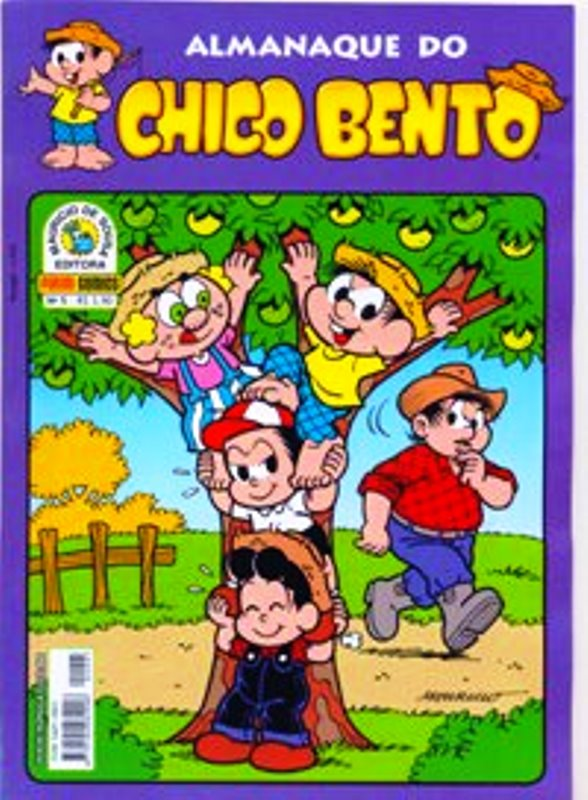 ALMANAQUE DO CHICO BENTO nº005 - EDITORA PANINI