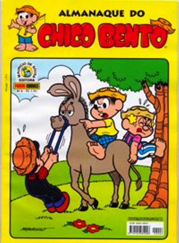 ALMANAQUE DO CHICO BENTO nº006 - EDITORA PANINI