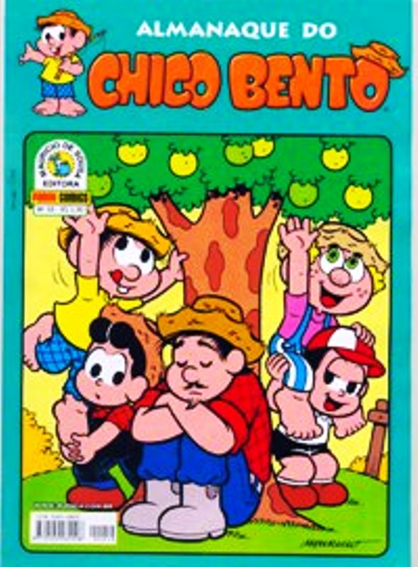 ALMANAQUE DO CHICO BENTO nº010 - EDITORA PANINI