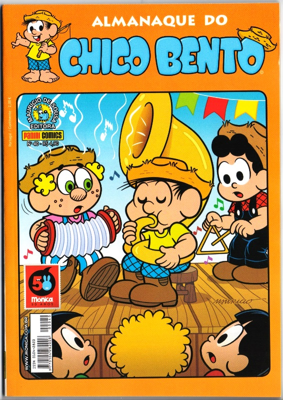 ALMANAQUE DO CHICO BENTO nº040 - EDITORA PANINI