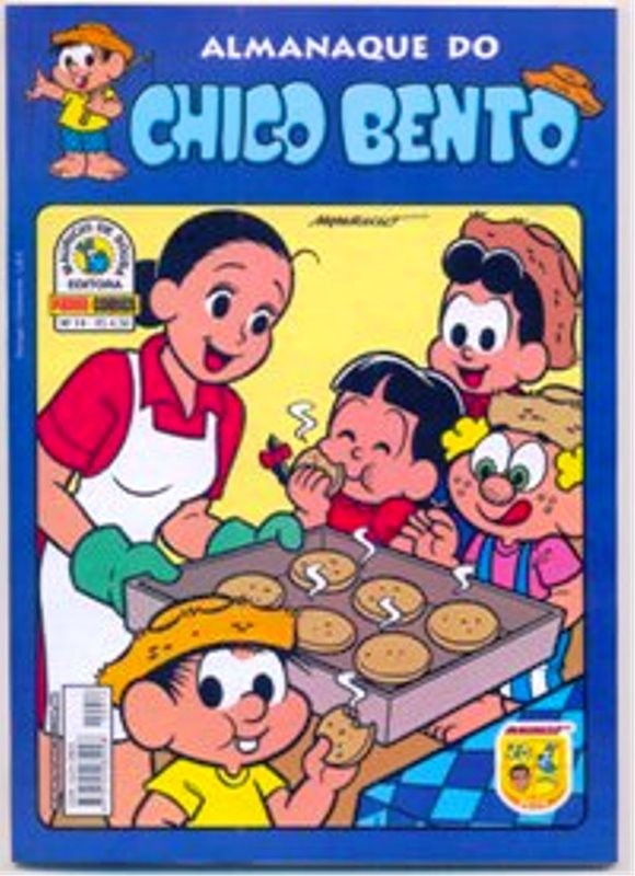 ALMANAQUE DO CHICO BENTO nº014 - EDITORA PANINI