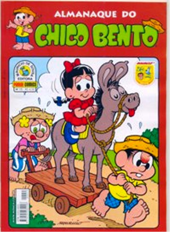 ALMANAQUE DO CHICO BENTO nº015 - EDITORA PANINI
