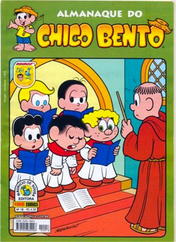 ALMANAQUE DO CHICO BENTO nº018 - EDITORA PANINI