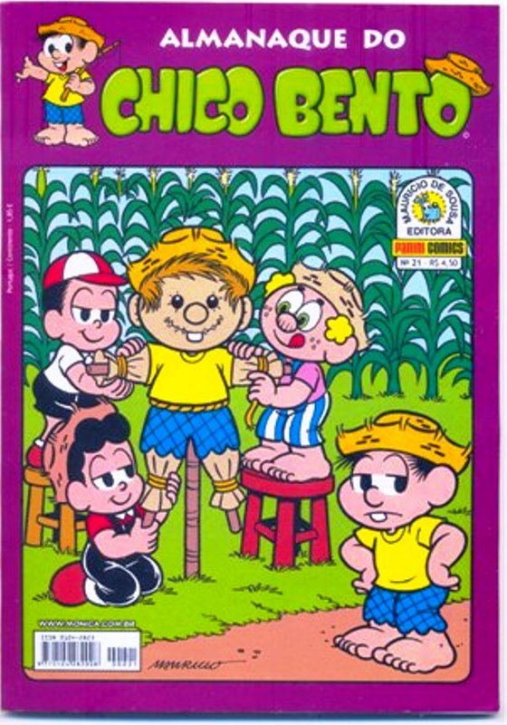 ALMANAQUE DO CHICO BENTO nº021 - EDITORA PANINI